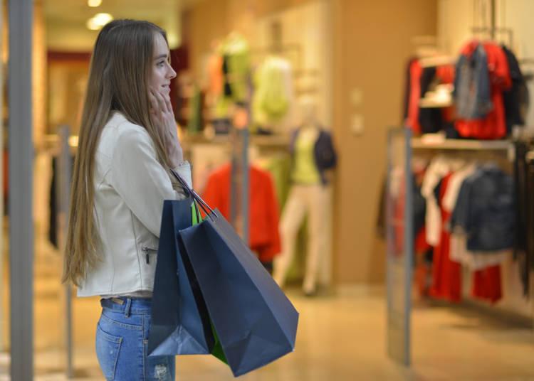 일본여행을 오는 이유중 하나인 쇼핑
