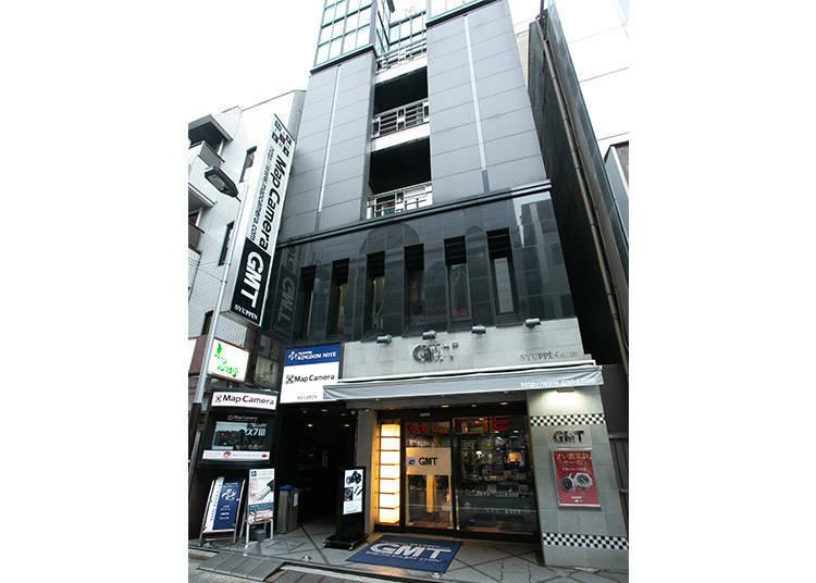 新宿地區:手錶專賣店① GMT