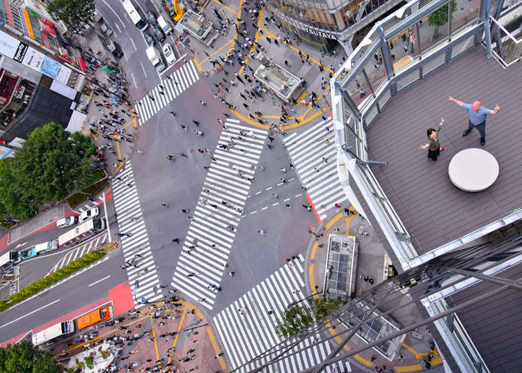 Best View of Shibuya Crossing?! Check out the Deck in Magnet by Shibuya109!