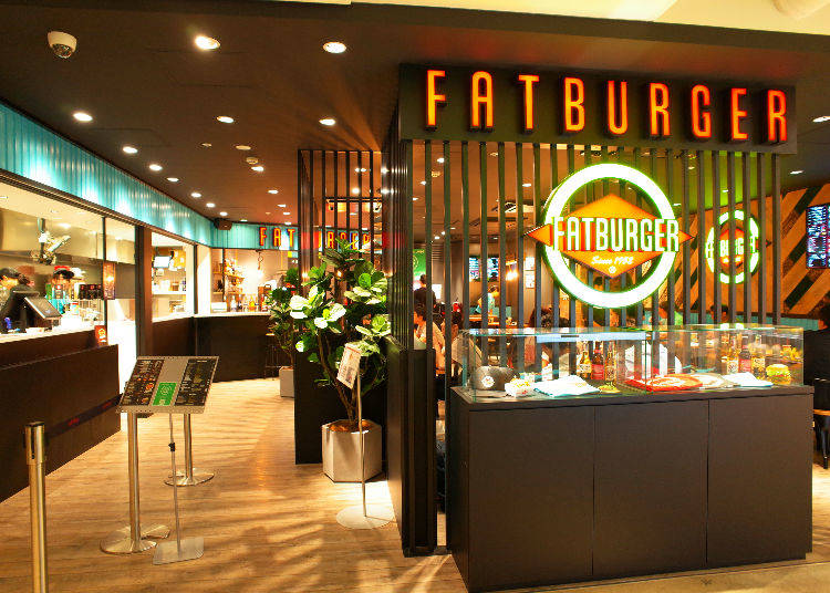 This is the First Location in Japan of the Popular Fatburger