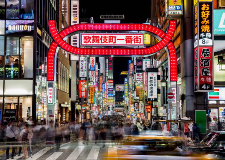 5. Explore Shinjuku's Kabukicho Area - Around 7:00 PM