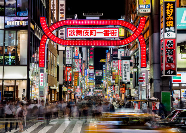 5. Explore Shinjuku's Kabukicho Area - Around 7:00 PM