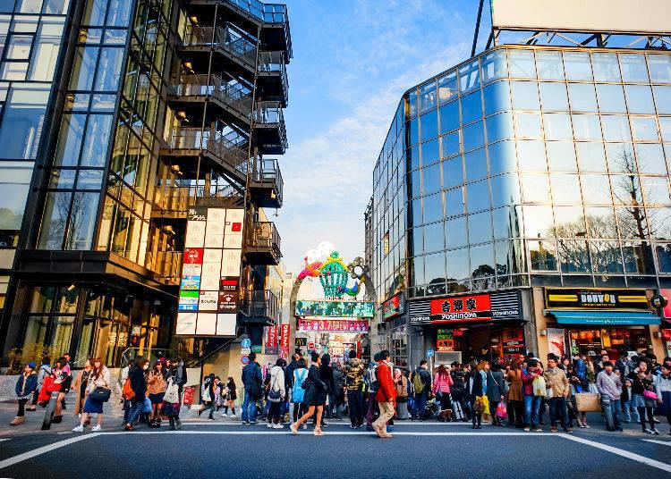 4. Walk Takeshita Street