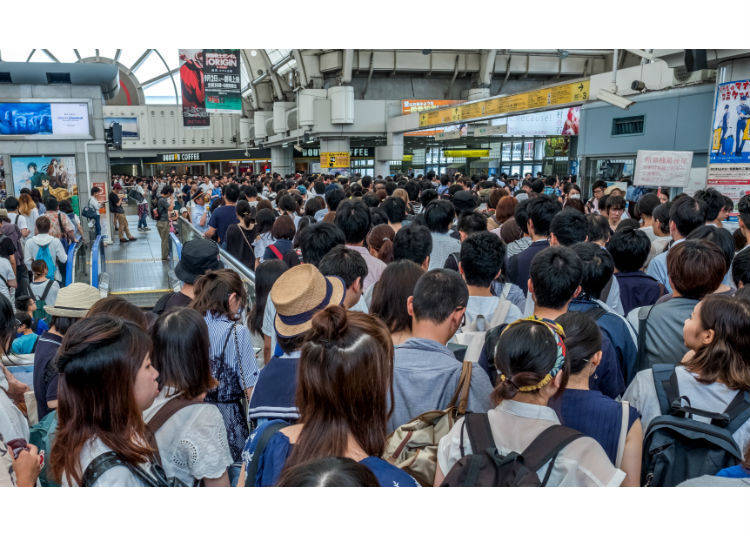 No. 6: 184% Congestion Rate - Tokaido Line