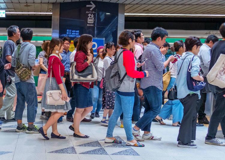 No. 3: 192% Congestion Rate - Odakyu Odawara Line   (Setagaya Daita Station → Shimokitazawa Station)
