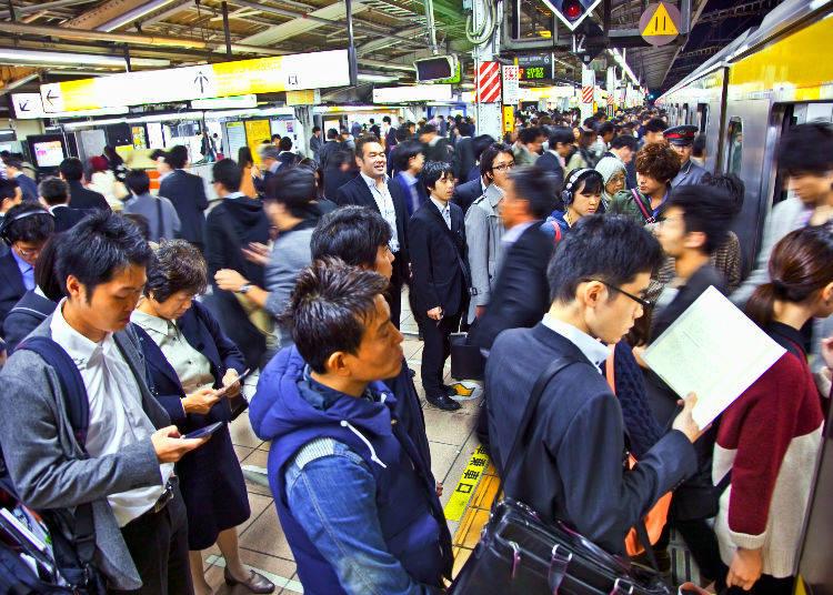 No. 2: 198% Congestion Rate - Sobu Line  (Kinshicho Station → Ryogoku Station)