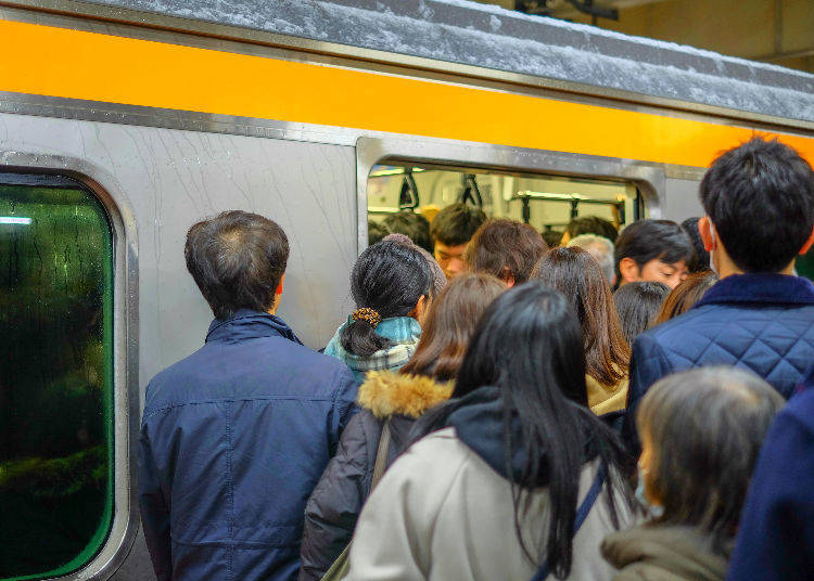 What is the congestion rate for trains?