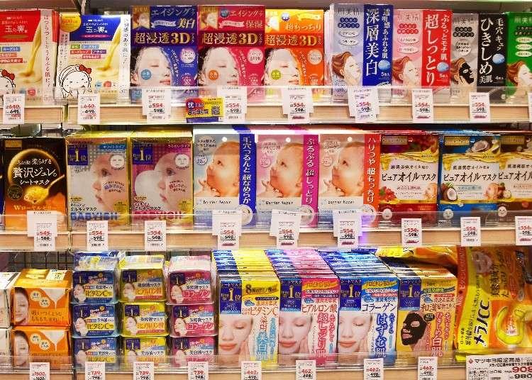 愛「面」子的女孩照過來!松本清店長大揭密 日本人愛用面膜10選