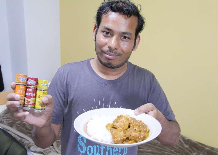 インド人なら100円ショップのスパイスでも本格インドカレーは作れるのか?本場の味を知るインド人が挑戦!