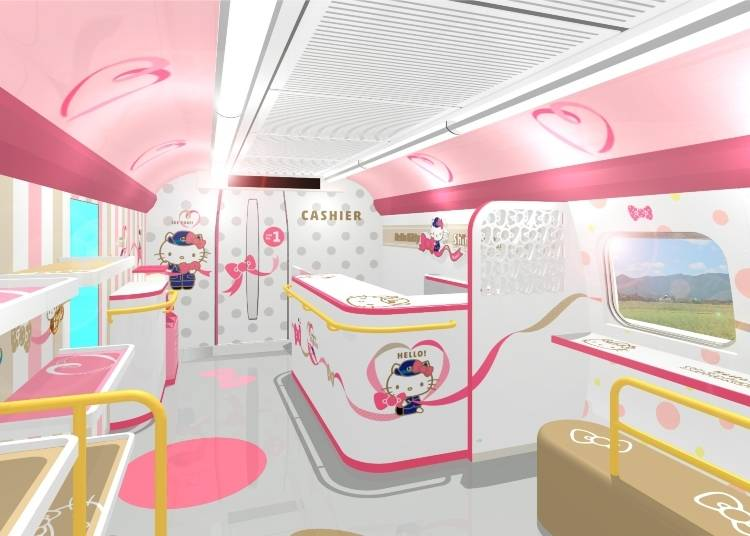 "Hello Kitty's Highlights #1: Discover Regional Charms in Car No. 1 and the ""Hello! Plaza"""