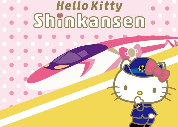 How to Ride on the Hello Kitty Shinkansen: Spontaneous Tickets are A-Ok!