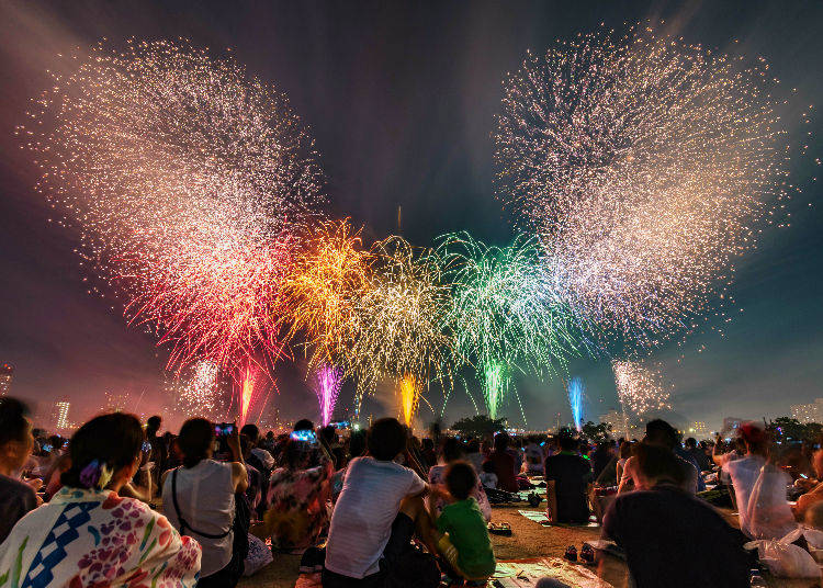 10. Savor Japan's Many Summer Events!