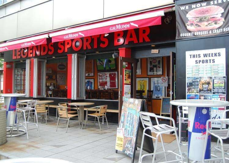 Where to catch the game in Japan? 4 Popular Sports Bars in Tokyo