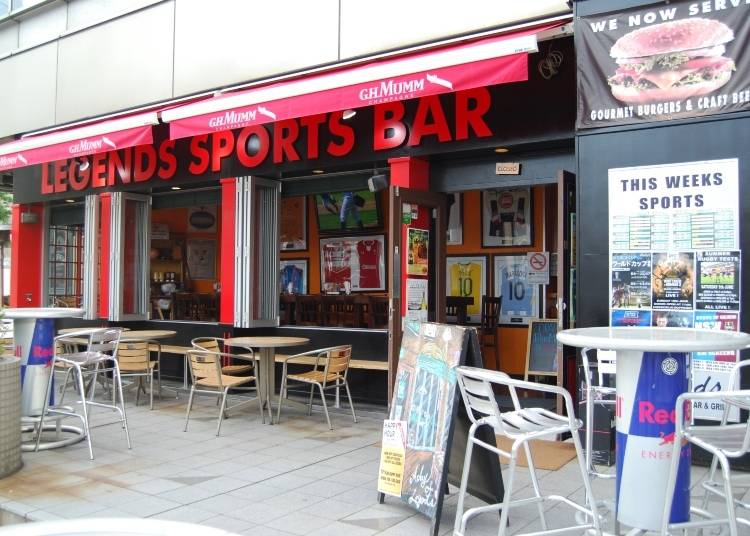 2. Legends Sports Bar – Roppongi