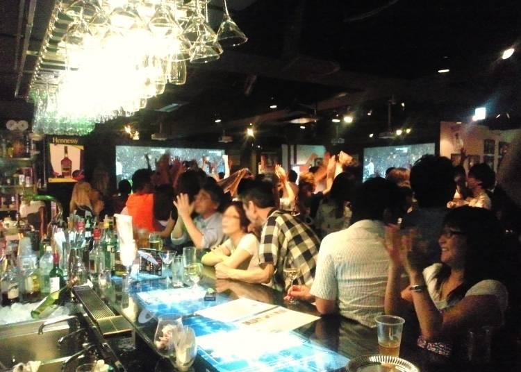 4. Tokyo Sports Cafe – Roppongi