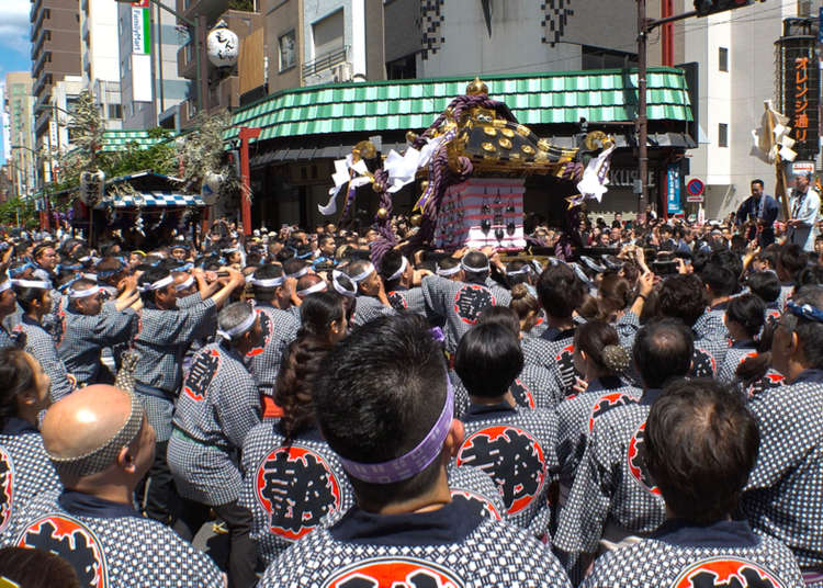 Seeing The Sanja Matsuri - One of Tokyo's Most Famous Festivals! (May 17-19, 2019)