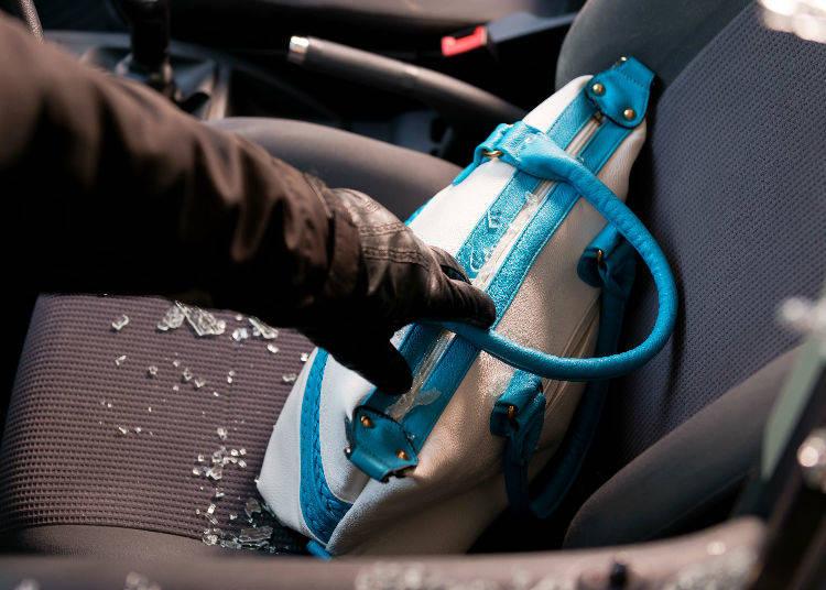 Beware of Car Vandalism at Parking Lots!