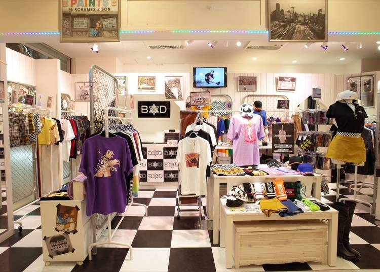 B1F: Bad Store (Apparel / Sundries)