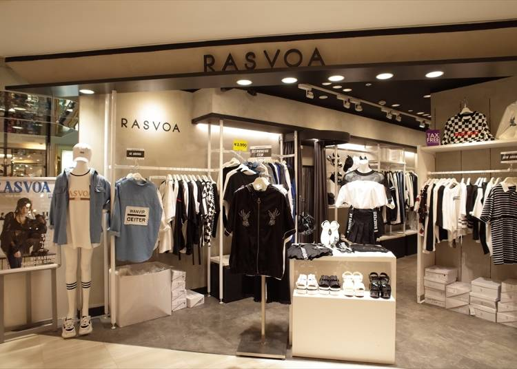 4F: Rasvoa (Apparel)