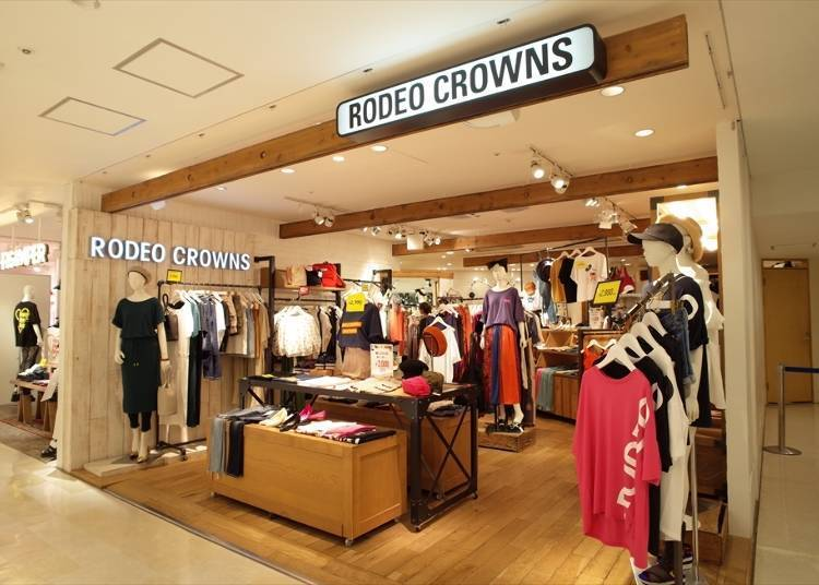 5F:RODEO CROWNS(服飾)