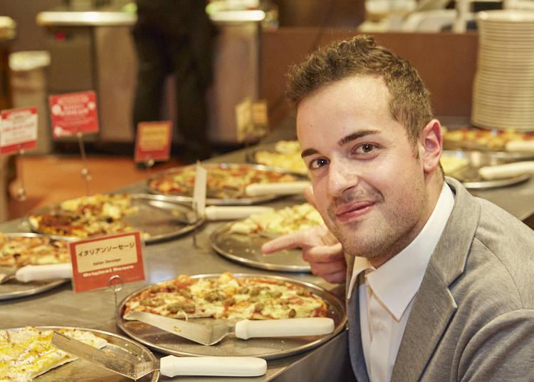 アントニオさんお気に入りのシェキーズピザメニューは?!