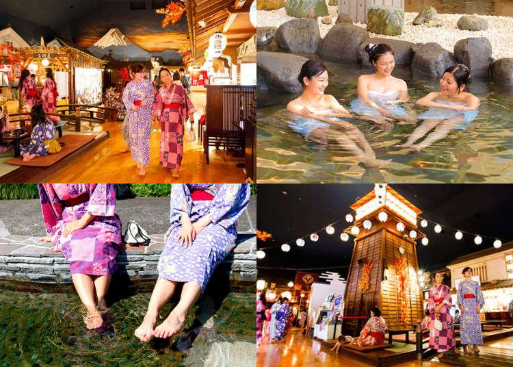What to do in Odaiba: Enjoying a Budget Day Spa at 'Odaiba Oedo Onsen Monogatari'!