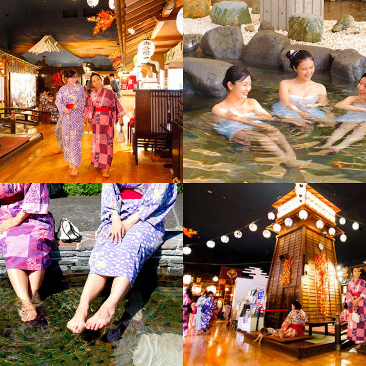What to do in Odaiba: Enjoying a Day Spa at Odaiba Oedo Onsen Monogatari!