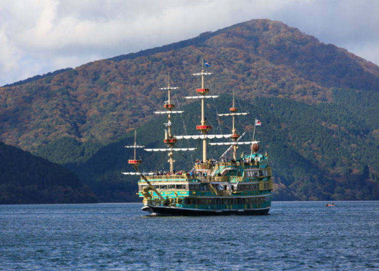 Ready for an Adventure? Take a Voyage on the Hakone Pirate Ship!