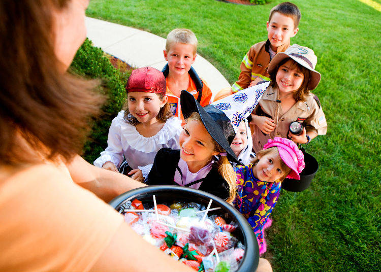 Are Japanese Children Trick-or-Treating as well?