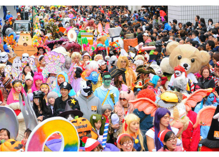 And Yet, Japan's Strange Version of Halloween Transcends Halloween's Concept