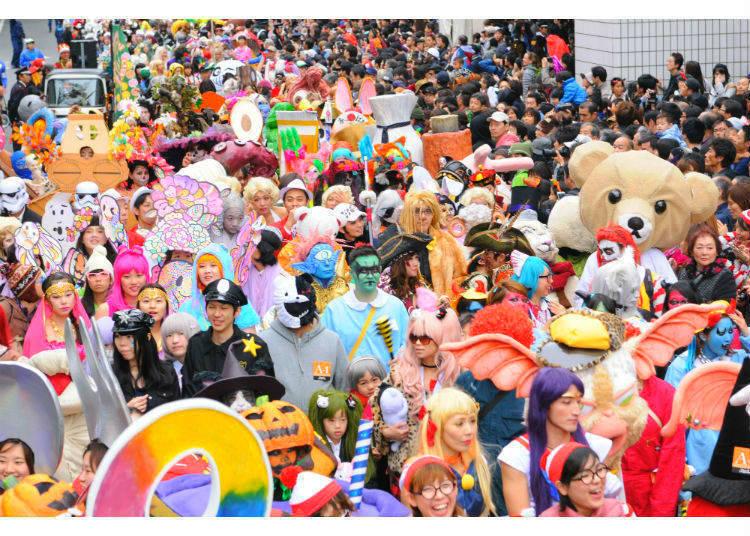 And Yet, Japan's Strange Version of Halloween Transcends Halloween's Concept