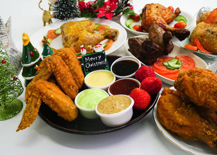 What's Japan's Style of Eating Chicken and Shortcake on Christmas?!