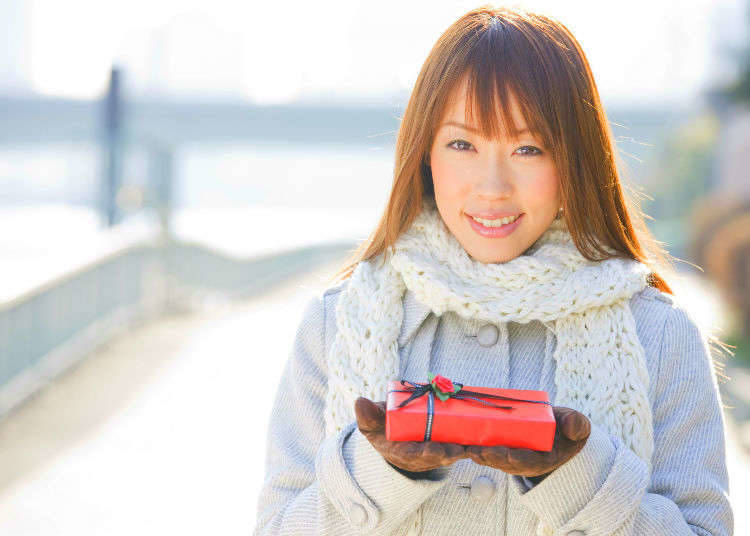 3. Japanese Valentine's Day Overthrows Global Customs