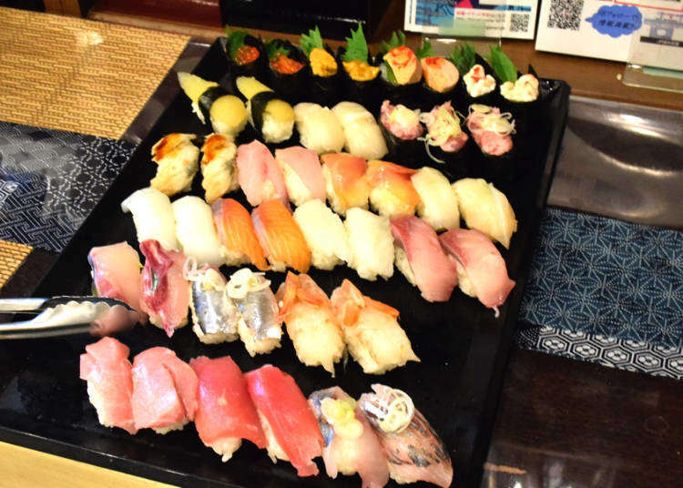 """All-You-Can-Eat/Drink Sushi & Sake for ¥5,000!? """"Little Sake Square"""" is Perfect for Foodies!"""