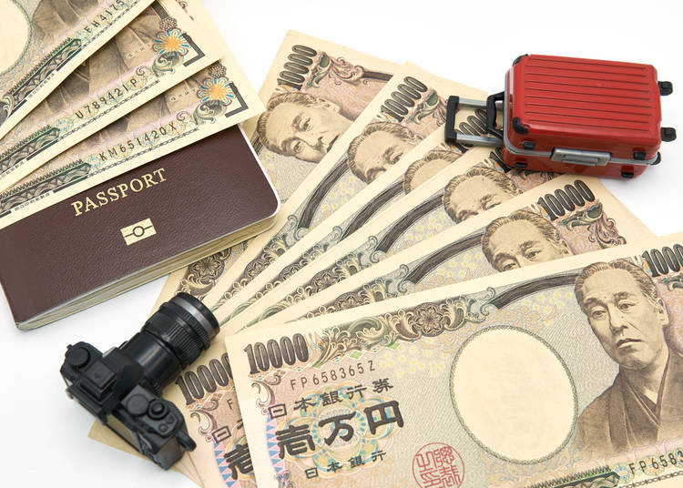 4. In Japan Cash is King – be sure to stock up ahead of time!