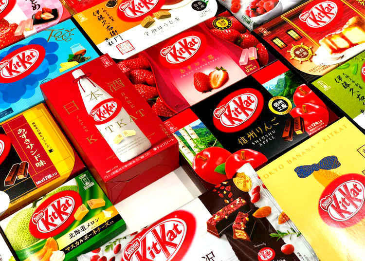 3. Be sure to seek out and try Japanese snacks!