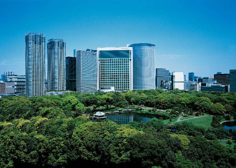 1. Conrad Tokyo: In Walking Distance of Ginza and with a Fantastic View of the City