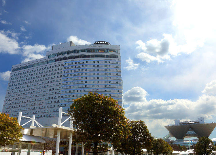 3. Tokyo Bay Ariake Washington Hotel Great Choice for Longer Stays