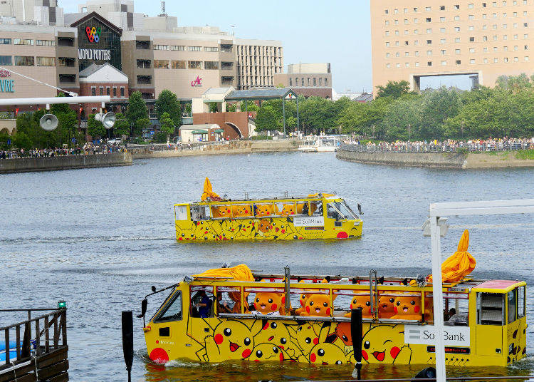 Highlight 3: Pokémon Take to the Water at the Pikachu Ship Greeting!