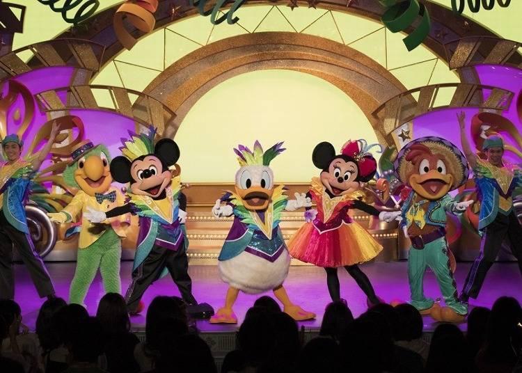 "Tokyo Disney Resort 35th Anniversary ""Happiest Celebration!"" Latest News #2: Dance Away the Heat with ""Let's Party Gras!"" (Tokyo Disneyland)"