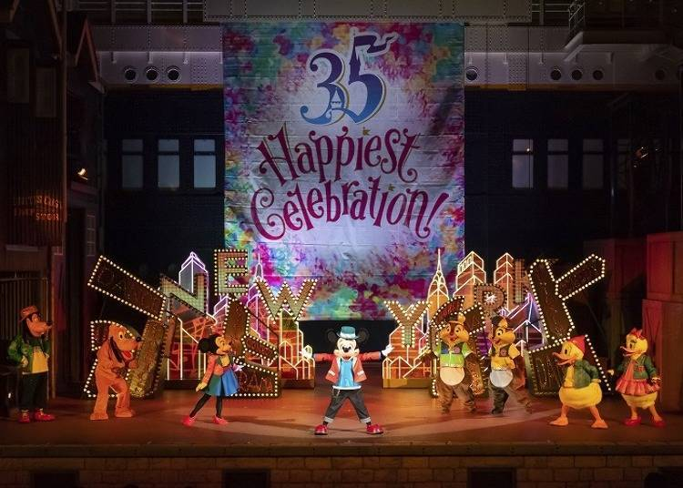 "Tokyo Disney Resort 35th Anniversary ""Happiest Celebration!"" Latest News #3: ""Hello, New York!"" with Mickey and His Friends! (Tokyo DisneySea)"