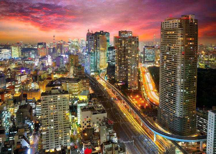 Top 3 Areas in Tokyo with the Highest Number of Violent Crimes