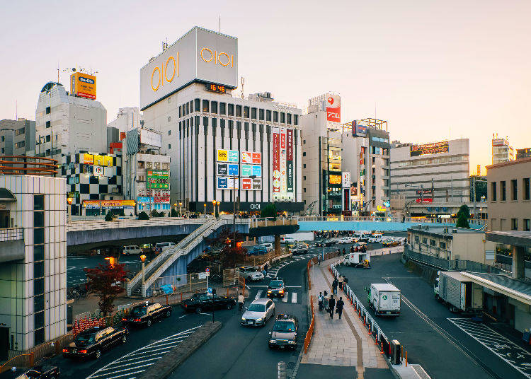But Which Areas of Tokyo Are the Safest?