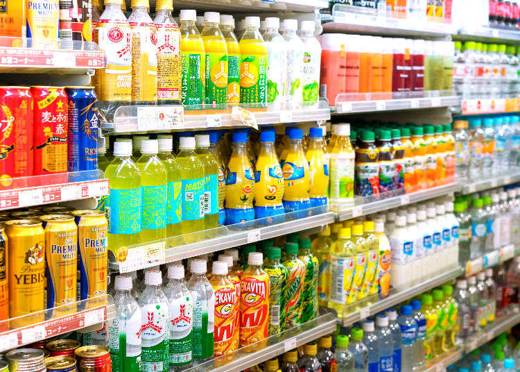 What Do Japanese Really Buy? Top 10 Japanese Sodas at Keio Supermarket!