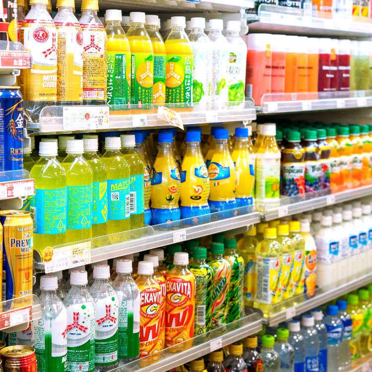 What Do Japanese Really Buy? Top 10 Japanese Sodas at Keio Supermarket!