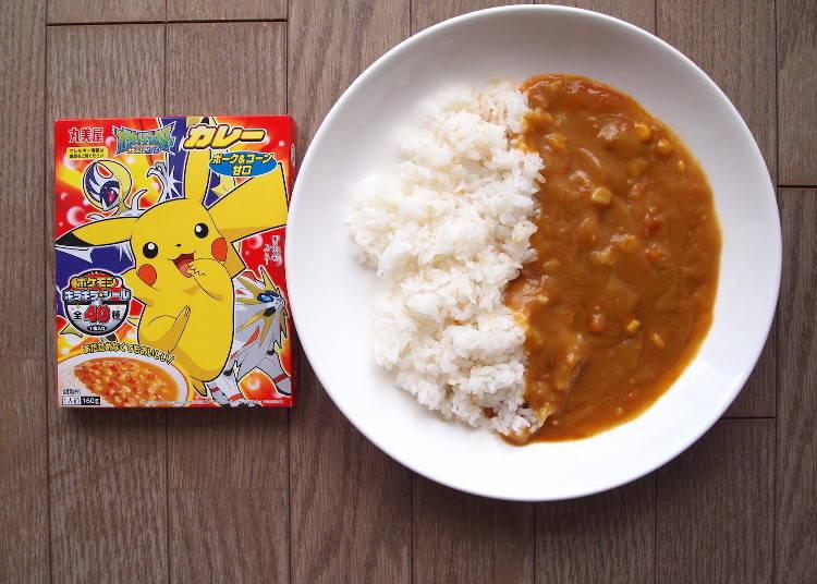 5. Kids' Favorite: Pokémon Curry Pork & Corn