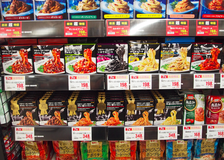 Shopping at Keio Store: 10 Japanese-style Pasta Sauces to Expand Your Palate!