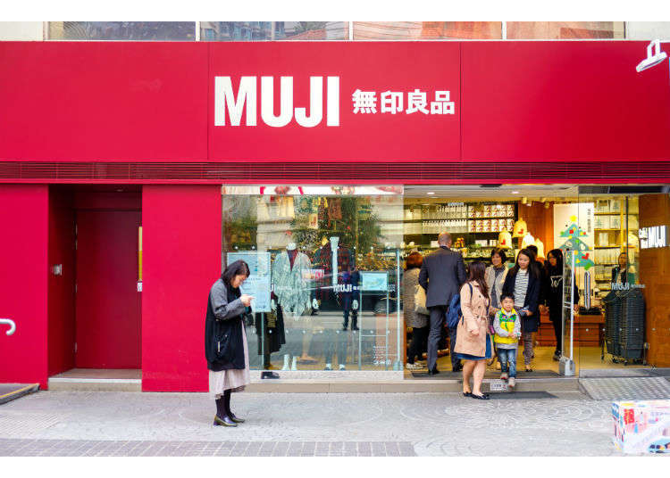 Top 10 Best-Selling Items from the Japan's Best Lifestyle Brand MUJI