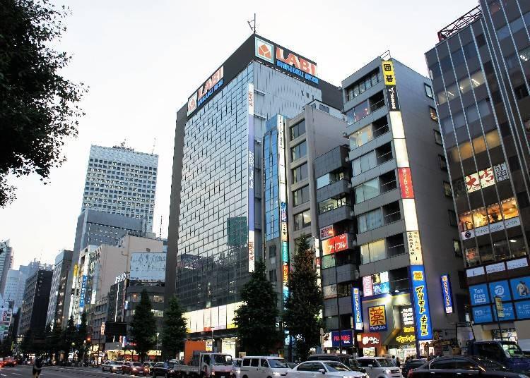 ■ Shinjuku West Exit