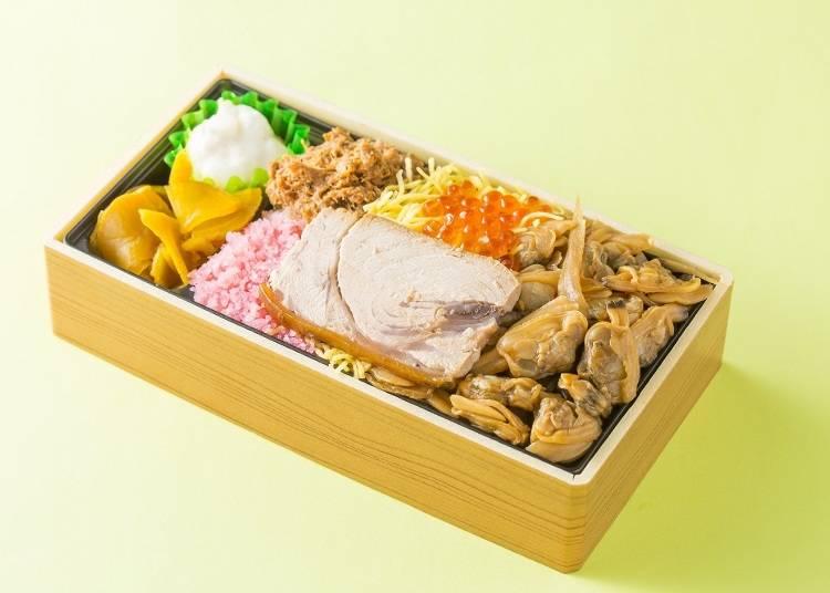 ●2位「彩り弁当」つきじ喜代村